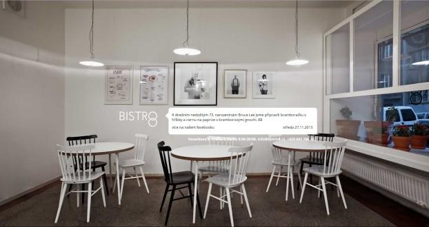 Velké produktové fotografie, atin studio blog - Bistro 8