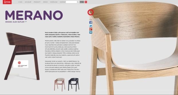Velké produktové fotografie, atin studio blog - Židle Ton